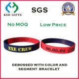 熱いCustom&Nbsp; Silicone&Nbsp; Wristband&Nbsp; ブレスレット