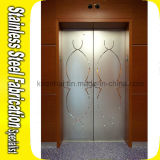 Декоративное украшение панели двери лифта нержавеющей стали вытравливания