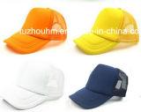 蛍光カラートラックの運転手のネットの帽子の帽子