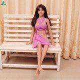 Erwachsenes lebensgrosses Silikon-fällige reale Geschlechts-Puppe der Cer-Bescheinigung-125cm