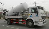 Sinotruk 12000 de vácuo do tanque da água de esgoto litros de caminhão da sução