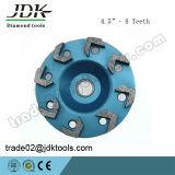 Roda do copo do diamante do segmento da seta para ferramentas de moedura concretas