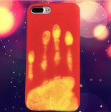 iPhone 6/7のための超細い革魔法カラー変更の電話箱