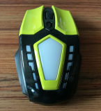 Nouveau style LED coloré 6D Wired USB Optical Computer Gaming Mouse