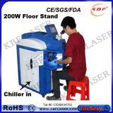 냉각장치를 가진 금속을%s 200W 보석 Laser 점용접 기계