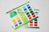 Carte pliée de couleur de peinture d'étage