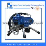 Pulvérisateur privé d'air d'enduit de pouvoir de pompe à piston
