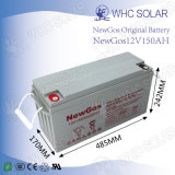 12V 150ah Valve Regulated Lead Acid Battery for Home