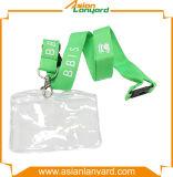 형식 안전 클립 ID 카드 홀더 방아끈