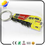 Catena chiave di promozione dei regali del metallo di marchio piacevole del veicolo per il trasporto