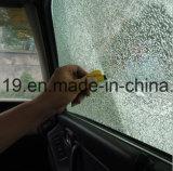Martillo Emergency de la seguridad de los cortacircuítos del vidrio de ventana de coche del silbido portable mini