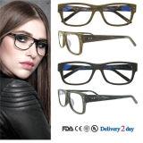 Vidrios ópticos al por mayor del marco de espectáculo de los marcos ópticos de Eyewear de la manera