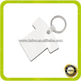 Keyrings em branco do MDF do Sublimation das vendas por atacado de China