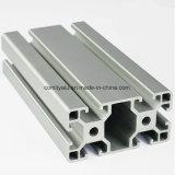 Profilo in Alluminio Industriale di Anodizzato Matt Bright Silver Color