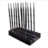2g, 3G, 4G, GPS, Wi-Fi, VHF, сигнал Blocker14 Jammer UHF соединяет Jammer сигнала мобильного телефона
