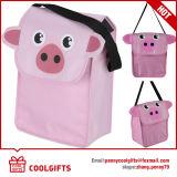 Mini saco de escola do almoço do refrigerador para o presente da promoção