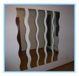 Зеркало высокого качества водоустойчивое декоративное волнистое (SMI-AMG2003) в размере клиента с двойной Coated краской