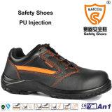 Precio al por mayor estándar de seguridad del Sb negro ligero de los zapatos