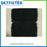 Betätigtes Kohlenstoff-Schwamm-Filter-Ineinander greifen