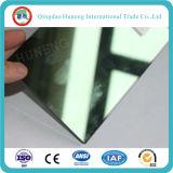 5mm dunkelgrünes reflektierendes Glas ein Grad