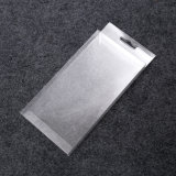 petit rectangle pliant la caisse d'emballage transparente de PVC de plastique