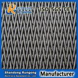 ステンレス鋼の食糧のための混合物によってバランスをとられる織り方ベルト