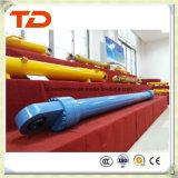 Cilindro do petróleo do conjunto do cilindro hidráulico do cilindro do crescimento de Doosan Dh55-5 para peças sobresselentes do cilindro da máquina escavadora da esteira rolante