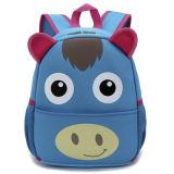 Выдвиженческий Backpack студента девушки шаржа неопрена
