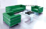Edelstahl-Büro-Möbel-ledernes Büro-Wartesofa (NS-2328A)