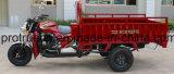Triciclo del cargo del descargador de la gasolina del freno con el tubo