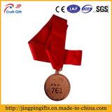 2017 de Medaille van het Metaal van de Herinnering van de Douane met Lint in Rood
