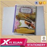 Constructeurs faits sur commande de livre d'exercice de cahier de papeterie d'école de la Chine