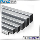 Tallas cuadradas de aluminio del tubo