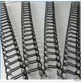 Alambre doble revestido del PVC para el atascamiento de libro HS1099