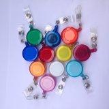 Yo-yo ritrattabile delle bobine del distintivo del supporto di scheda di identificazione di abitudine metallo/della plastica per le sagole
