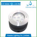 El poder más elevado IP68 acero inoxidable LED bajo el agua de la fuente de las luces