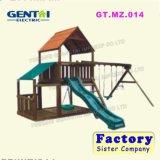 子供の幼稚園のための屋外の遊園地の屋外の子供の運動場