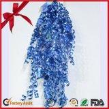 Горячий продавая смычок хорошего качества голубой завивая для украшения праздника