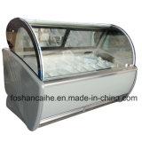 사슬 아이스크림 가게를 위한 6개 FT 얼음 Gelato 전시 진열장