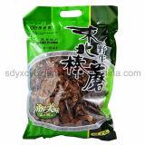 Bolso modificado para requisitos particulares del empaquetado completamente plástico del alimento del lacre 3-Side