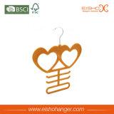 Вешалка шарфов бархата милого сердца форменный для индикации