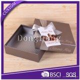 Impresión en color que resbala el rectángulo de empaquetado del chocolate de encargo de la cartulina
