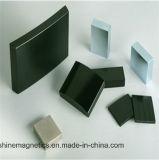 Segmento del magnete del neodimio di rendimento elevato N38uh