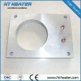 A placa morre o calefator do alumínio de carcaça