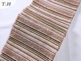 中国の製造者(FTH32073C)がなす多彩なシュニールの縞のソファーファブリック