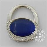 Mano bolso redondo colgantes anillo, metal de la percha (GZHY-BHR-068)