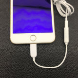 Adattatore del cavo cuffia/del trasduttore auricolare per il più di iPhone 7&7 del Apple per l'interfaccia del lampo/IOS cavo aus. del Jack della femmina di 3.5mm all'audio