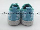 Zapatos de lona ocasionales de la inyección de los niños con buena calidad (FFHH-092802)