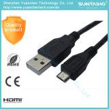 Het zwarte Mannetje van de Kleur aan de Vrouwelijke Kabel van de Uitbreiding USB