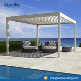 Auvent en aluminium motorisé d'ombrage de Sun de toit
